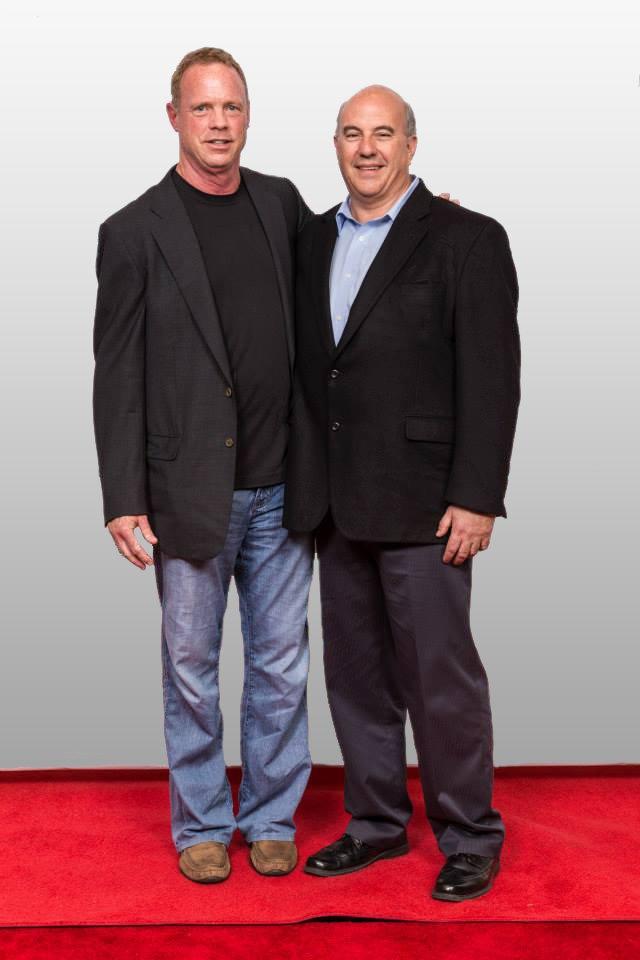 Brad Adams with Jeff Hoffman