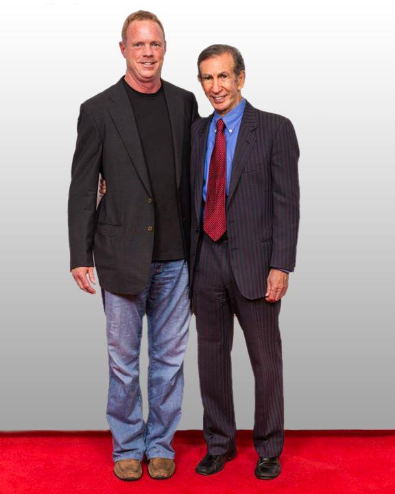 Brad Adams with marketing legend Joe Sugarman