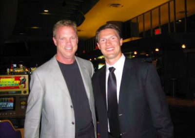 With Phoenix Coyotes captain Shane Doan
